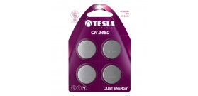 CR2450 B4 LITIO 3V TESLA B.