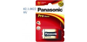 6LR61X B1 9V PANASONIC PRO POWER