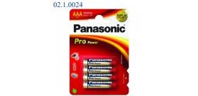 LR03PP B4 MINISTILO AAA 1,5v PANASONIC PRO POWER
