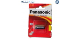 CR123 B1 3V LITIO PANASONIC