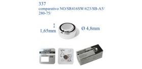 337 ossido argento 1.55v MAXELL SR416SW