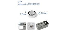 379 ossido argento 1.55v MAXELL SR521SW