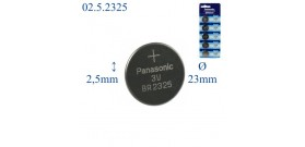 BR2325 B1 LITIO 3V PANASONIC 1 BATTERIA