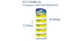 364 B10 ALKALINE 1,5V KONNOC(364-SR621SW-AG1)