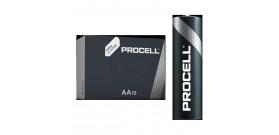 10 AA STILO 1.5V DURACELL PROCELL ALKALINE BOX