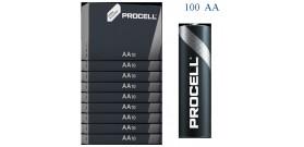 100 STILO AA 1.5V DURACELL PROCELL ALKALINE CARTONE