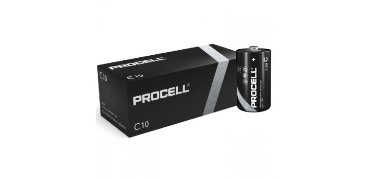10 MN1400 1/2 TORCIA C 1.5V PROCELL DURACELL
