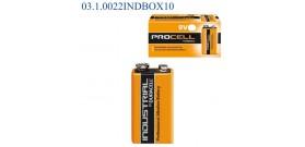 MN1604 TRANSISTOR 9V DURACELL INDUSTRIAL x10 BOX