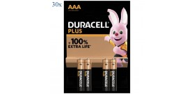 30 BLISTER MN2400 B4 MINISTILO AAA 1.5V PLUS POWER DURACELL