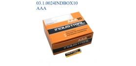 MN2400 MINISTILO AAA 1.5V DURACELL INDUSTRIAL ALKALINE x10