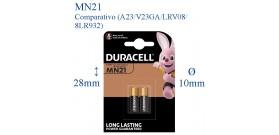 MN21 B2 ALKALINE 12V 33mAh DURACELL (A23-23A)