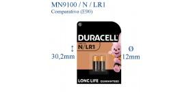 MN9100 B2 N ALKALINE 1.5V DURACELL (LR1-AM5-E90-9100-N)