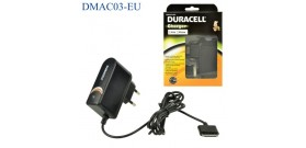DURACELL CHARGER CAVO SPINA 10A a APPLE 30 PIN NERO 1A 1mt