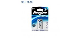 6LR6 B1 TRANSISTOR 9V LITIO ULTIMATE ENERGIZER