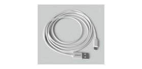 CAVO DA USB A MICRO USB-B BIANCO 1A 2mt PVC GROOVY