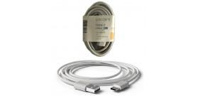 CAVO DA USB A TYPE-C GREY 1A 2mt PVC GROOVY