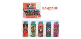 ACCENDINI FLAMINAIRE TOUCH GLITTER SKULL 423812
