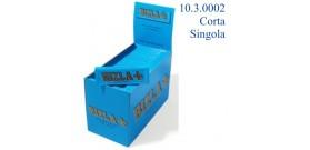 CARTINE RIZLA CORTE SINGOLA BLU 50fg x100 libretti