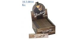 CARTINE SMOKING KS BROWN 33fg x50 libretti OFFERTA