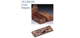 CARTINE SMOKING CORTE SINGOLE BROWN 60fg x50 libretti