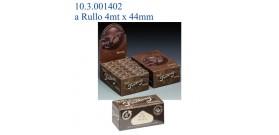 CARTINE SMOKING ROLLS BROWN 4mt x44mm x24 rotoli
