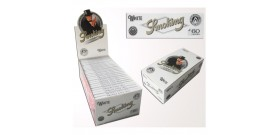 CARTINE SMOKING CORTE SINGOLE WHITE BIANCA 60fg x50 LIBRETTI