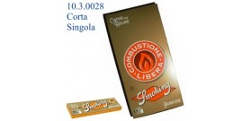 CARTINE SMOKING CORTE SINGOLE ORANGE 60fg x50