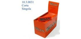 CARTINE RIZLA CORTE SINGOLA ROSSA 50fg x100 libretti