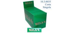 CARTINE RIZLA CORTE SINGOLA VERDE x100 libretti
