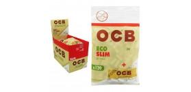FILTRI OCB 6mm SLIM LISCI 15mmBIO/ECO+CARTINA BOX10BUS.x120f