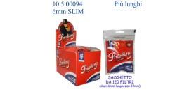 FILTRI SMOKING 6mm  SLIM +22mm+LONGSIZE BOX30BUSTEx120filtri