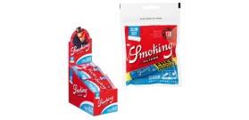 FILTRI SMOKING 6mm SLIM 15mm BOX30 BUSTEx120 filtri+C.BLU