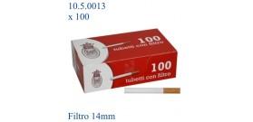 TUBETTI BRAVO x100 +FILTRO 14mm