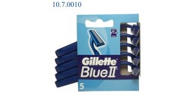 5 RASOI GILLETTE BLUE II 2 lame BLISTER