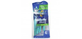 4 RASOI GILLETTE BLUE II SLALOM PLUS BLISTER