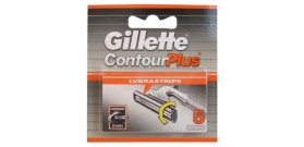 RICAMBI GILLETTE CONTOUR PLUS x5 lame