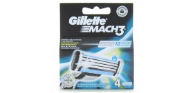 4 RICAMBI GILLETTE MACH3 3 lame