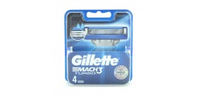 RICAMBI GILLETTE MACH3 TURBO x4 lame