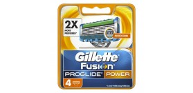 RICAMBI GILLETTE FUSION PROGLIDE POWER x4 lame