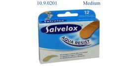 12 BLISTER CEROTTI SALVELOX AQUA RESIST (MEDIUM x12) 19x72mm