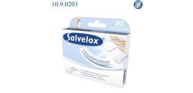 12 BLISTER CEROTTI SALVELOX AQUA RESIST TRASPARENTI(x20 ASS)