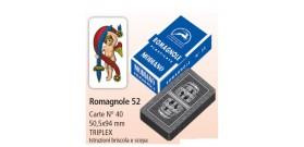 MODIANO ROMAGNOLE 40 CARTE TRIPLEX N.52