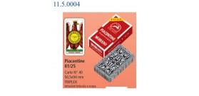 MODIANO PIACENTINE 40 CARTE TRIPLEX 81/25