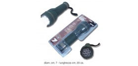 TORCIA 7 LED PLASTICA GOMMATA 8111 x2Dnon incl.IN BLISTER