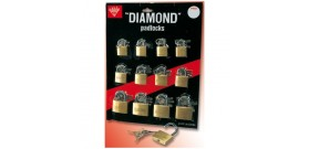 LUCCHETTI DIAMOND MEDI ASS.25/30/40mm
