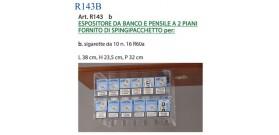 ESPOSITORE BANCO PENSILE xSIGARETTE da 10 2 PIANI+16 R60A®