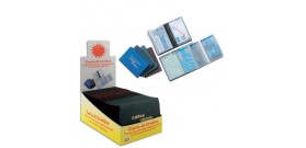 PORTA CARD x5 A FISARMONICA PVC