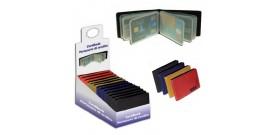 CARDBOOK x12 CARD IN PVC in 4 colori