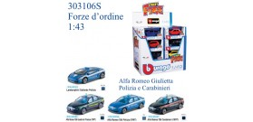 BURAGO MACCHINE SECURITY TEAM 6s 1:43 x1