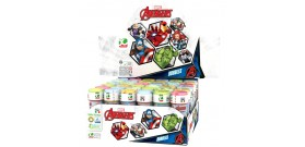BOLLE DI SAPONE 60ml THE AVENGERS ASSEMBLE x36